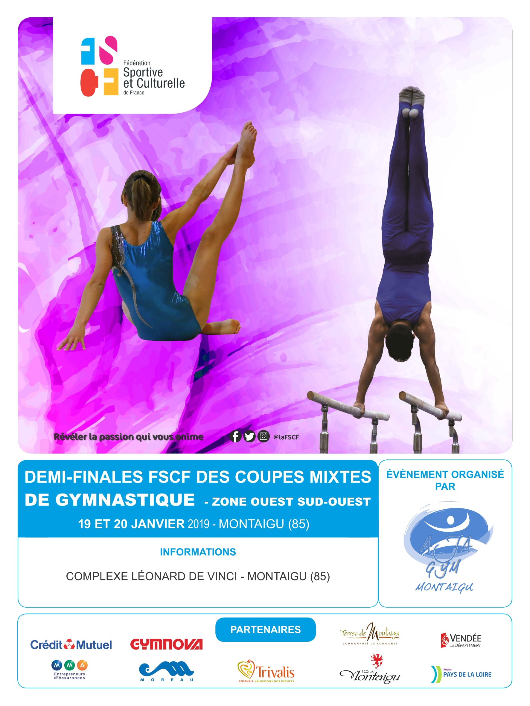 Gym mixte zone ouest sud ouest